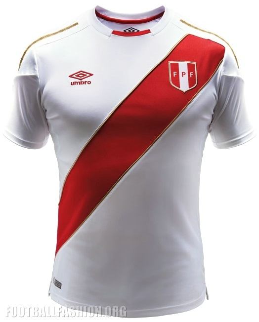kits, numbers, fonts REQUESTS - Page 3 Peru-2018-world-cup-umbro-home-kit