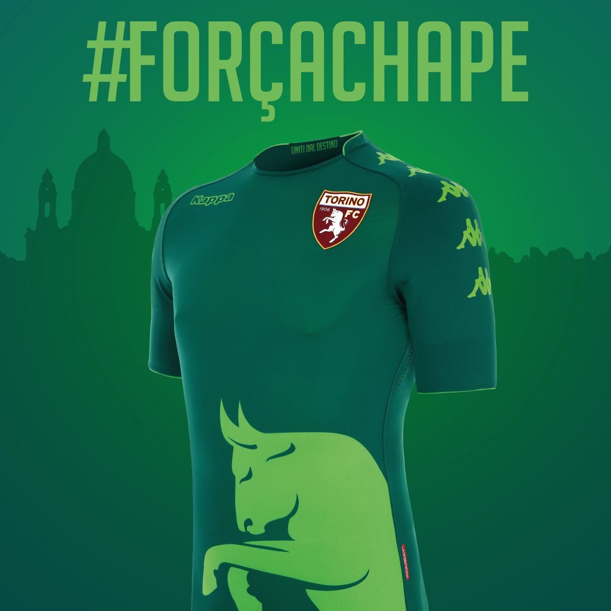 Torino FC 2017 18 Chapecoense Tribute Kit – FOOTBALL FASHION.ORG 8489369e79a47