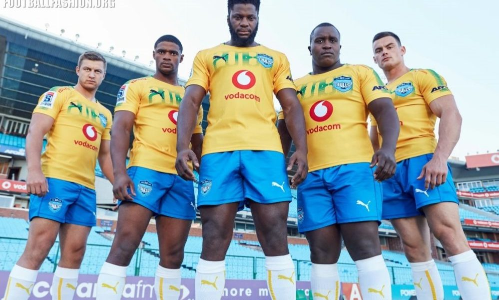 Bulls Rugby Unveil Soccer-Inspired 2018 PUMA Away Kit, Shirt, Jersey