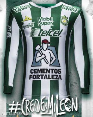 Club León 2018 Pirma Third Soccer Jersey, Football Kit, Shirt, Camiseta de Futbol, Equipacion Tercera