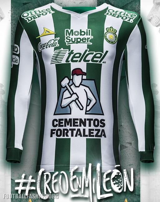 Club León 2018 Pirma Third Jersey – FOOTBALL FASHION.ORG 0de27c339a