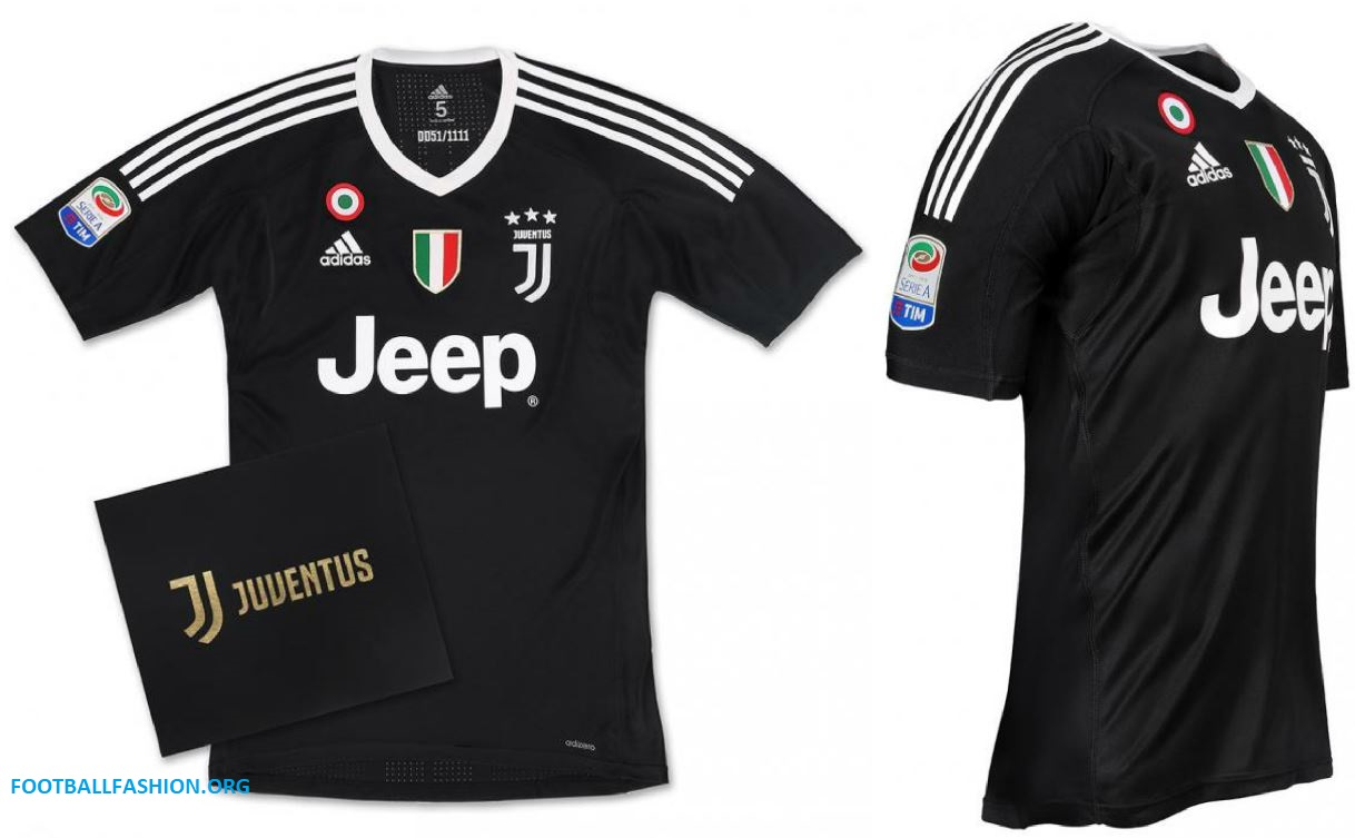 Juventus x Gigi Buffon 2018 adidas Black Football Kit, Soccer Jersey, Shirt,  Gara