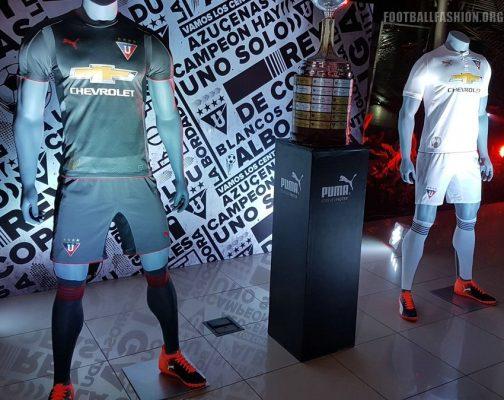 Liga de Quito 2018 PUMA Home and Away Football Kit, Soccer Jersey, Shirt, Camiseta de Futbol