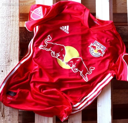 New York Red Bulls 2018 adidas Red Soccer Jersey, Football Shirt, Kit, Camiseta Roja