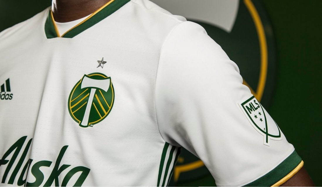 wholesale dealer 45e07 29a0a Portland Timbers 2018 adidas Away Jersey - FOOTBALL FASHION.ORG