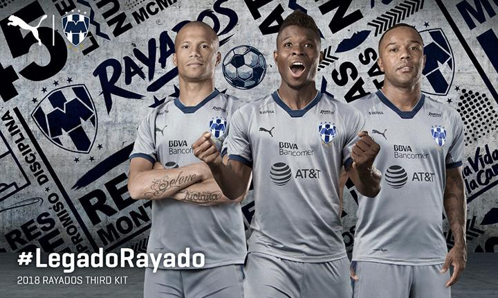 969f6ecd2 Rayados de Monterrey 2018 PUMA Third Kit - FOOTBALL FASHION.ORG