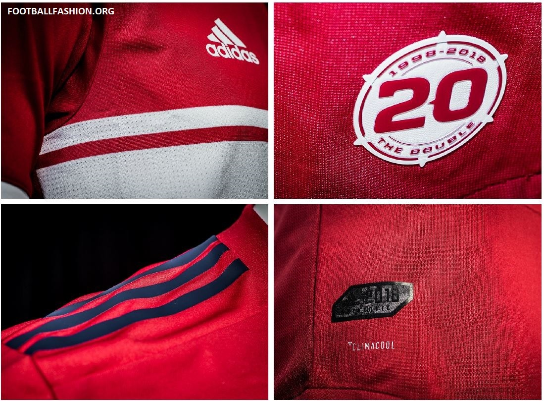 Chicago Fire 2018 Adidas Home Jersey Football Fashion Org
