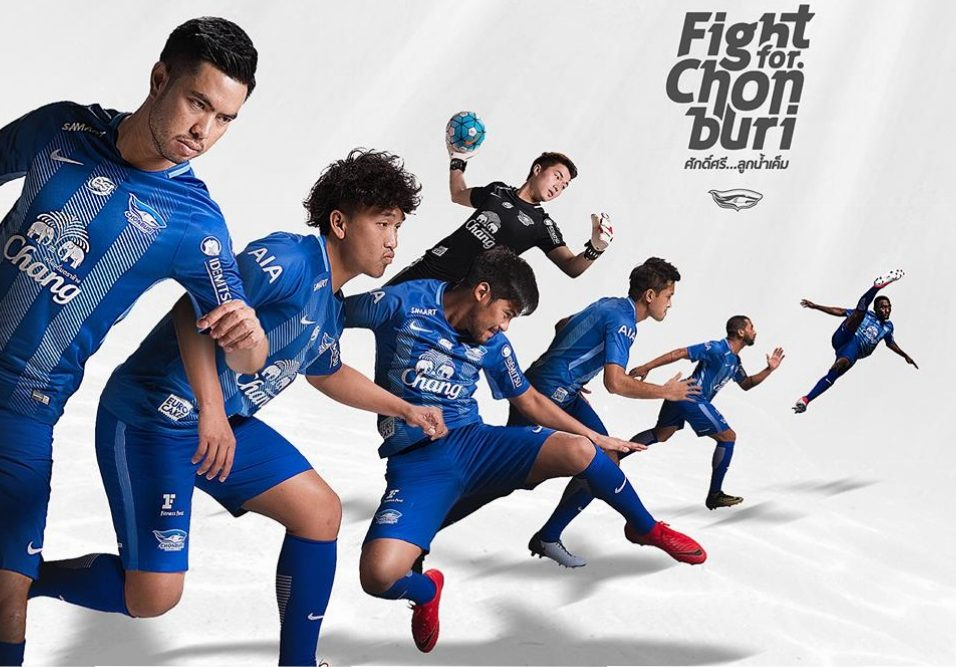 Chonburi FC 2018 Nike Home And Away Kits