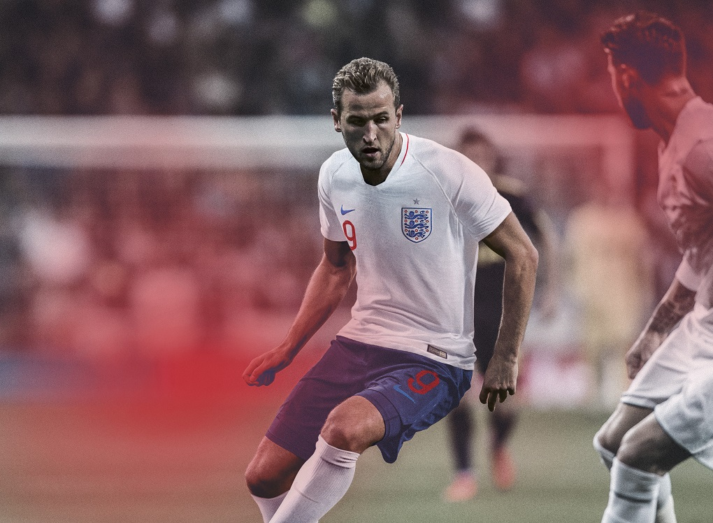 2791ed91 England 2018 World Cup Nike Home and Away Football Kit, Soccer Jersey, Shirt ,