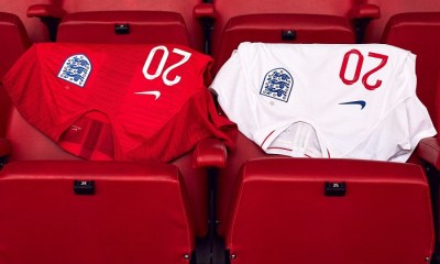 England 2018 World Cup Nike Home and Away Football Kit, Soccer Jersey, Shirt, 2019 Camiseta de Futbol, Maillot, Trikot