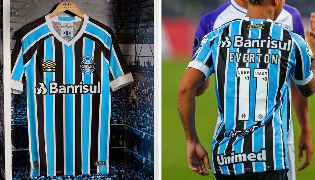 Grêmio 2018 Umbro Home Kit – FOOTBALL FASHION.ORG 042a0b86d