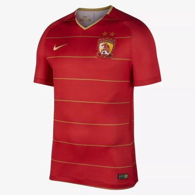 Guangzhou Evergrande 2018 Nike Home Football Kit, Soccer Jersey, Shirt