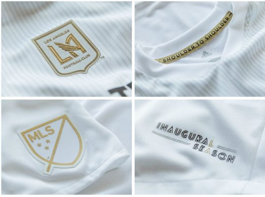 LAFC Unveils 2018 Inaugural Season Football Kit, Soccer Jersey, Shirt, Camiseta de Futbol, Los Angeles FC