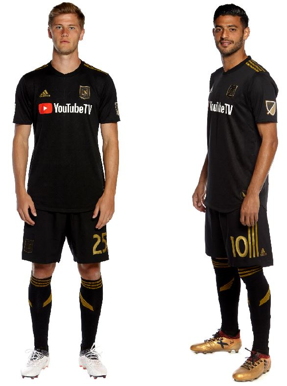 classic fit adc2a 0f845 LAFC Unveils 2018 Inaugural Season Kits - FOOTBALL FASHION.ORG