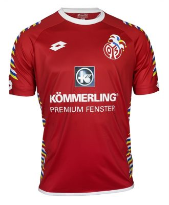 Mainz 05 2018 Lotto Carnival Football Kit, Soccer Jersey, Shirt, Trikot, Fastnachtstrikot