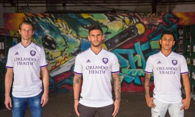 Orlando City 2018 2019 adidas Away Soccer Jersey, Football Kit, Shirt, Camiseta de Futbol, Camisa