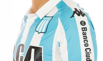 Racing Club 2018 Kappa Home Home Football Kit, Soccer Jersey, Shirt, Camiseta de Futbol