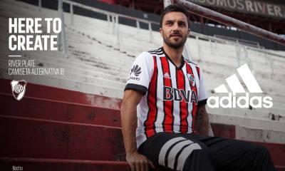 River Plate 2018 adidas Away Football Kit, Soccer Jersey, Shirt, Camiseta, Equipacion, Playera Tercera