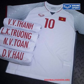 The Vietnamese men s senior national football will debuted their new home  kit when they meet Jordan in a AFC Asian Cup 2019 qualifier against Jordan  on ... 7fe6b665b