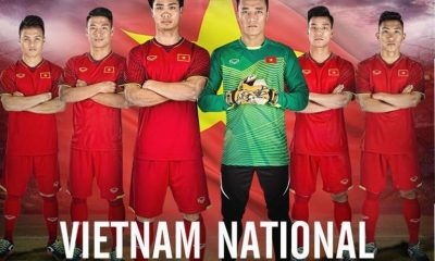 Vietnam 2018 Grand Sport Home and Away Football Kit, Soccer Jersey, Shirt