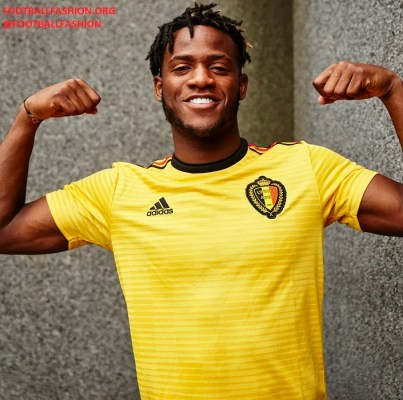 Belgium 2018 World Cup adidas Away Kit - FOOTBALL FASHION.ORG