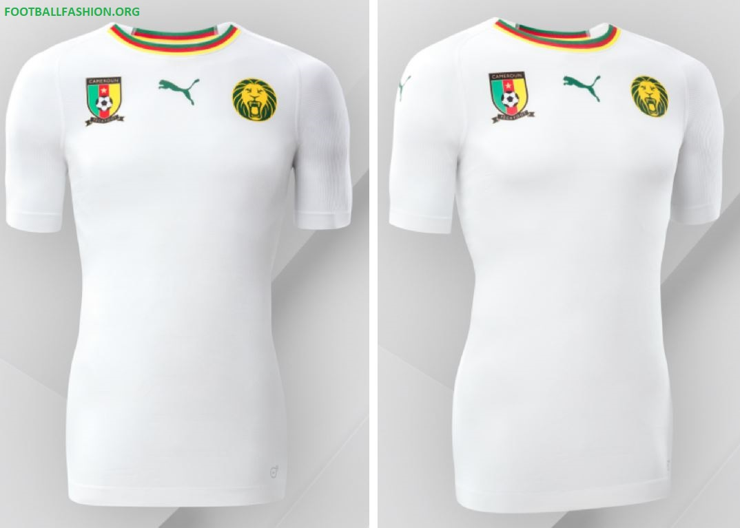 c15de0847 Cameroon 2018 19 PUMA Away Kit - FOOTBALL FASHION.ORG