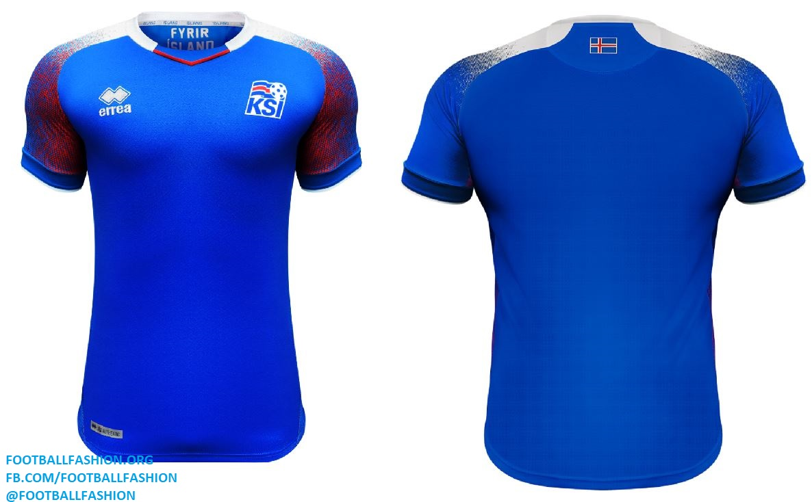 ea101bd63 Iceland 2018 World Cup Errea Home and Away Kits – FOOTBALL FASHION.ORG