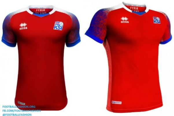 Iceland 2018 World Cup Errea Home and Away Football Kit, Soccer Jersey, Shirt, landsliðsbúningur