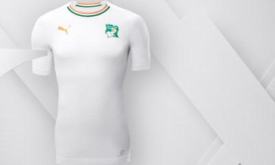 Ivory Coast 2018 2019 PUMA Away Football Kit, Soccer Jersey, Shirt, Maillot, Côte d'Ivoire