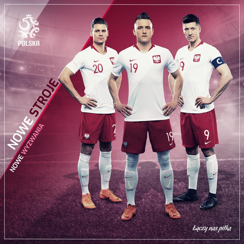 80d30dae3 Poland debuted their 2018 19 Nike home kit in a 0-1 loss to fellow World Cup  qualifiers Nigeria in Wroclaw last Friday.