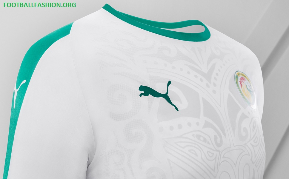 Senegal 2018 World Cup PUMA Home Kit – FOOTBALL FASHION.ORG 6013a03b6