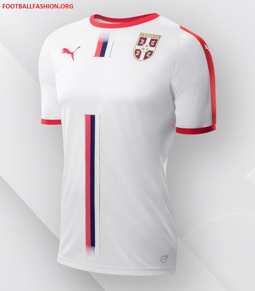 d16b7562a683 Serbia 2018 World Cup PUMA Away Kit - FOOTBALL FASHION.ORG