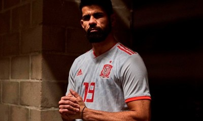 Spain 2018 World Cup adidas Away Football Kit, Soccer Jersey, Shirt, Camiseta, Equipacion, Copa Mundial