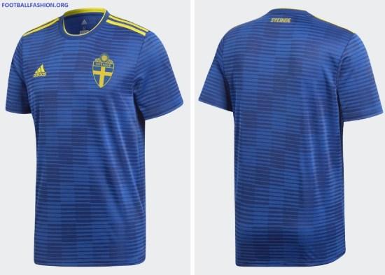Sweden 2018 World Cup Adidas Away Kit Football Fashion Org