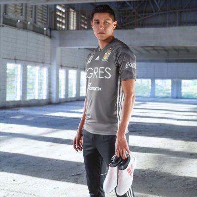 Tigres UANL 2018 adidas Third Soccer Jersey, Shirt, Football Kit, Camiseta de Futbol, Equipacion Tercera