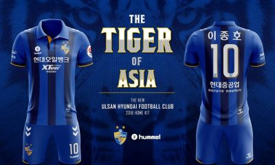 Ulsan Hyundai 2018 hummel Home and Away Football Kit, Soccer Jersey, Shirt