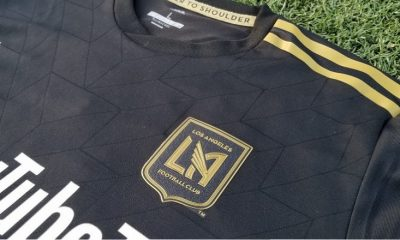 Los Angeles FC 2018 Inaugural Season Football Kit, Soccer Jersey, Shirt, Camiseta de Futbol, LAFC