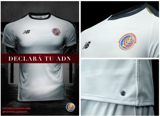 Costa Rica 2018 World Cup New Balance Away Jersey - Football Fashion e754b8200