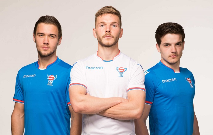 Faroe Islands 2018/19 Macron Home and Away Kits - FOOTBALL FASHION ORG