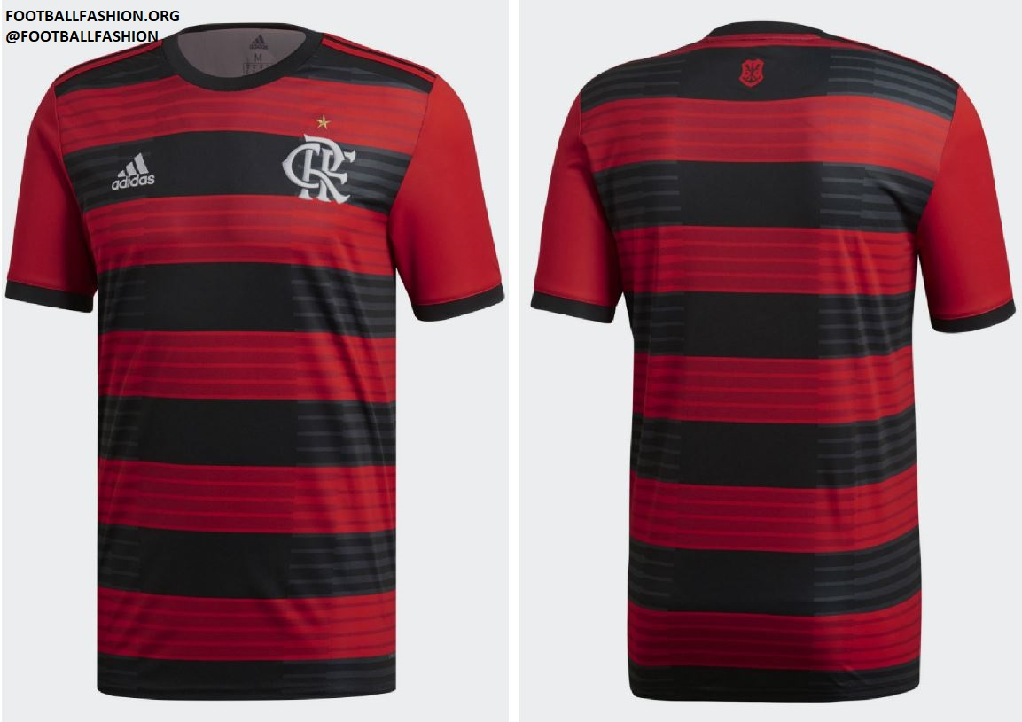 16e480f52330f CR Flamengo 2018 19 adidas Home Kit - FOOTBALL FASHION.ORG