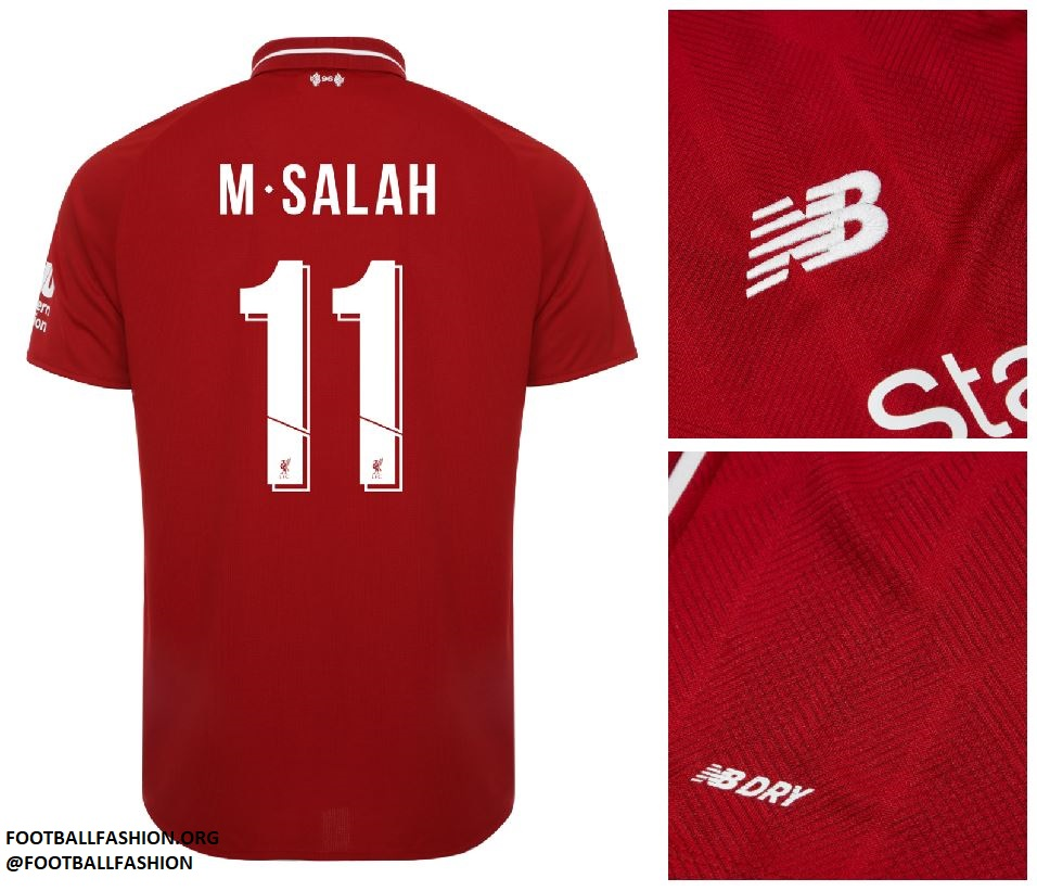 5d81ca6c8 Liverpool FC 2018 19 New Balance Home Kit - FOOTBALL FASHION.ORG