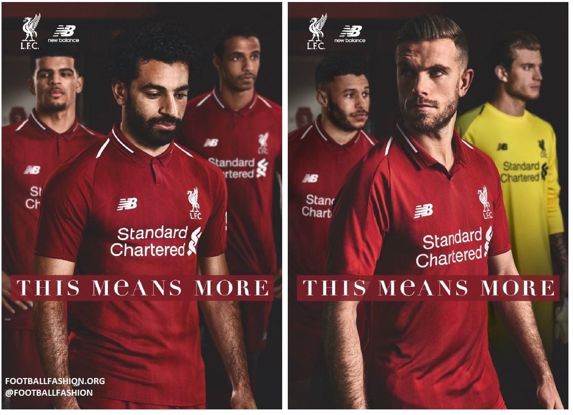 7d7a34f53 Liverpool FC 2018 19 New Balance Home Kit - FOOTBALL FASHION.ORG