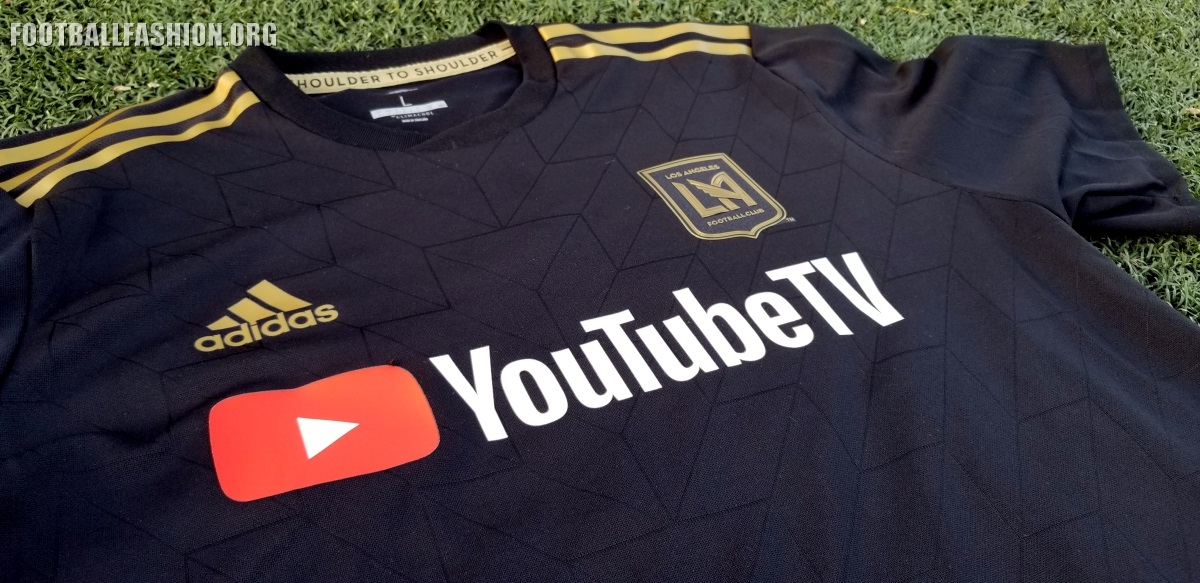 info for 592b5 08cf3 Up-Close: Los Angeles FC 2018 adidas Home Jersey - FOOTBALL ...