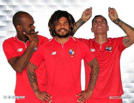 Panamá 2018 World Cup New Balance Home and Away Soccer Jersey, Shirt, Football Kit, Camiseta de Copa Mundial Rusia, Equipacion