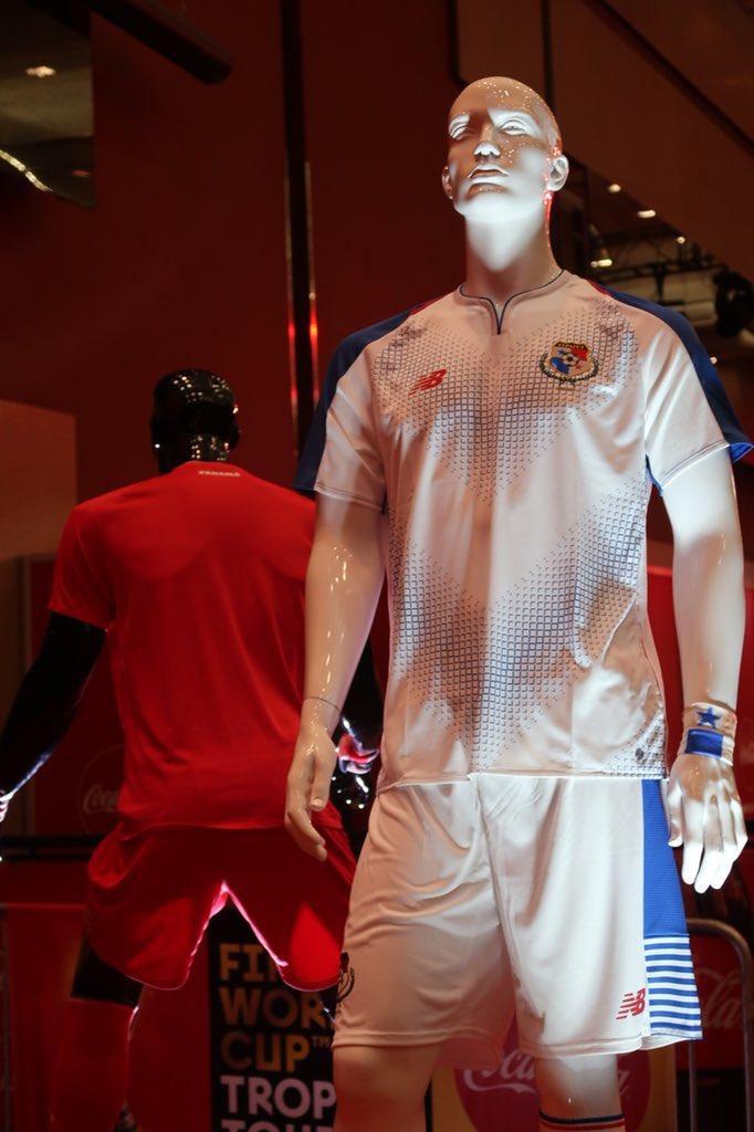 a9da3eb95b2 Panamá 2018 World Cup New Balance Home and Away Kits - FOOTBALL ...
