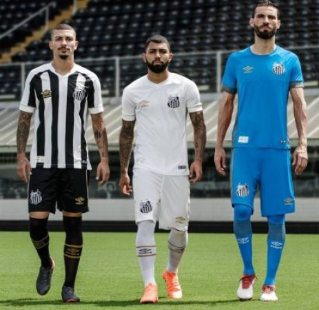 Santos FC 2018 2019 Umbro Home and Away Football Kit, Soccer Jersey, Shirt, Camisa, Camiseta