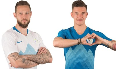 Slovenia 2018 2019 Nike Home and Away Football Kit, Shirt, Soccer Jersey, Dres