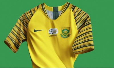 South Africa 2018 2019 Nike Home Soccer Jersey, Football Kit, Shirt