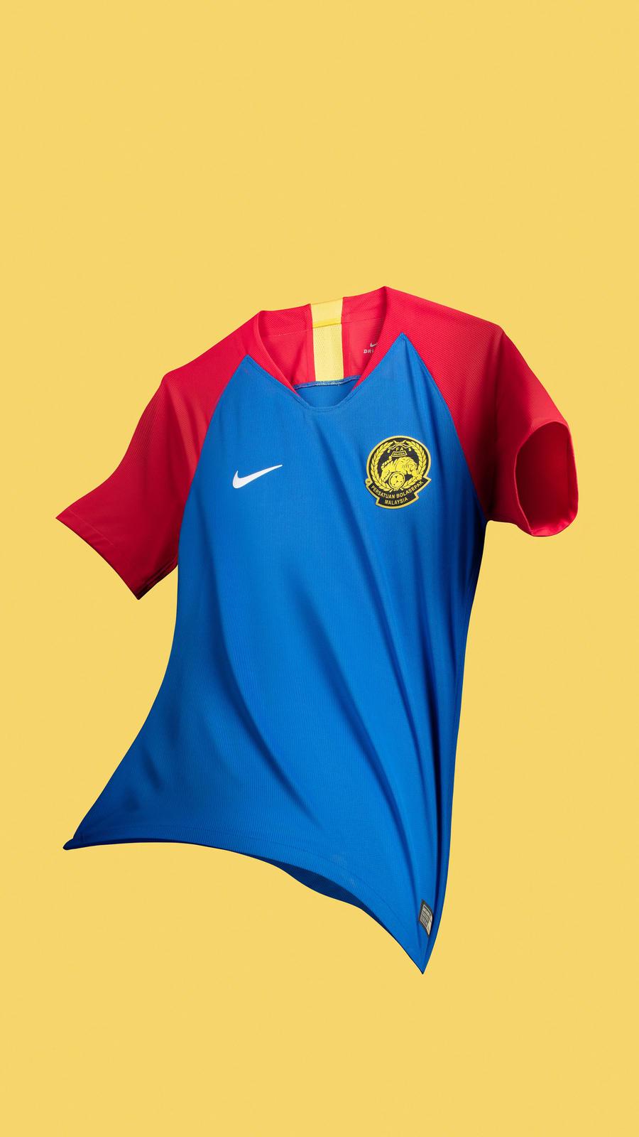 e82de4aa0 Malaysia 2018 2019 2020 Nike Home and Away Football Kit, Soccer Jersey,  Shirt,