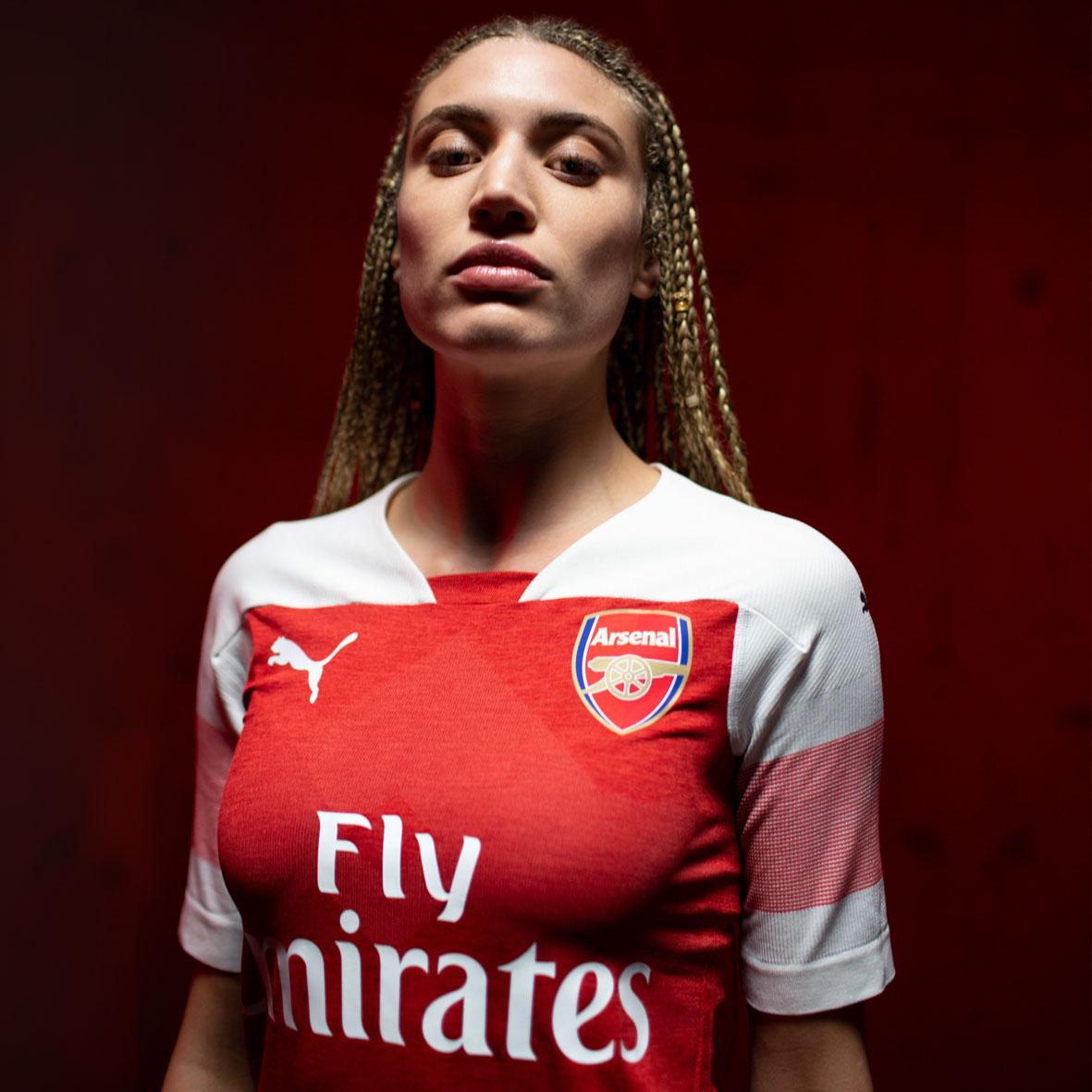 Arsenal FC 2018/19 PUMA Home Kit